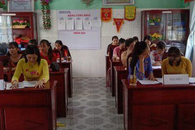Sáng Ngày 19/9/2020 Trường Mẫu giáo Tân Thuận Hội nghị cán bộ công chức, viên chức năm học 2020-2021
